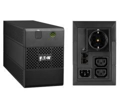 Eaton 5E 850I USB DIN sistema de alimentación ininterrumpida (UPS) 850 VA 3 salidas AC Línea interactiva - Imagen 1