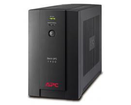 APC Back-UPS sistema de alimentación ininterrumpida (UPS) 1400 VA 6 salidas AC Línea interactiva