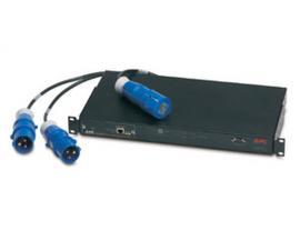 APC Rack Automatic Transfer Switch, 16A, 230V unidad de distribución de energía (PDU) Negro