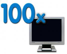 Samsung 152S Pack 100Pack 100 Unidades: Grado B (ver fotos) - TFT 15'' 4:3. Resolución 1024 x 768. Pixel Pitch 0,3 m
