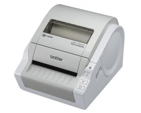 Brother TD-4100N impresora de etiquetas Térmica directa 300 x 300 DPI - Imagen 1