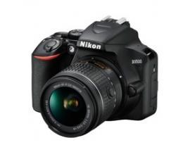 Camara nikon reflex d3500 24.2 mp 18-55 wifi/full hd/bluetooth/funda+libro digital - Imagen 1