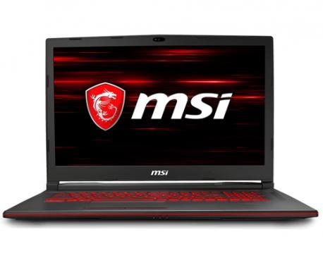 """MSI Gaming GL73 8RD-099XES Negro Portátil 43,9 cm (17.3"""") 1920 x 1080 Pixeles 2,20 GHz 8ª generación de procesadores Intel® Core"""