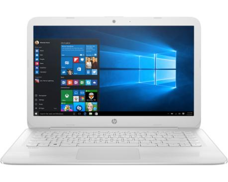 "HP Stream 14-cb099ns Blanco Portátil 35,6 cm (14"") 1366 x 768 Pixeles 1,6 GHz Intel® Celeron® N3060 - Imagen 1"
