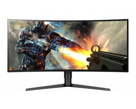 "LG 34GK950G-B pantalla para PC 86,4 cm (34"") UltraWide Quad HD LED Curva Mate Negro, Rojo - Imagen 1"