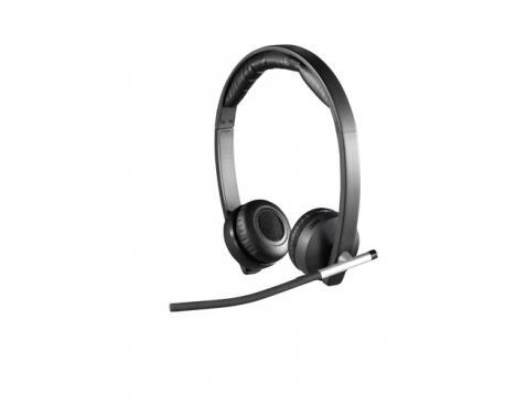 Auriculares con microfono logitech headset h820e wireless estereo - Imagen 1