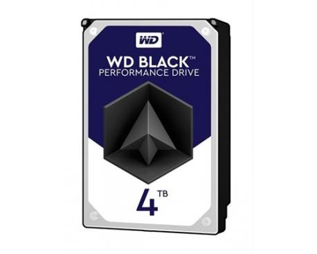 WD HDD DESK BLACK 4TB 3.5 SATA 256MB· - Imagen 1