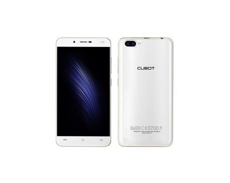 "Telefono movil smartphone cubot rainbow 2 blanco / 5"" / 16gb rom / 1gb ram / 13mpx - 5mpx / doble camara trasera / camara delant"