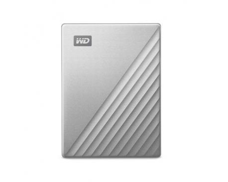 Western Digital WDBFTM0040BSL-WESN disco duro externo 4000 GB Plata - Imagen 1