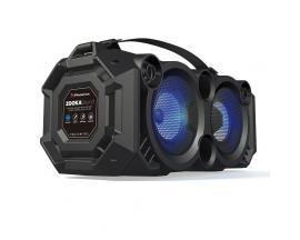 Altavoz portatil phoenix 24w con luz led / bluetooth / radio fm / usb / microsd / aux-in / entrada de microfono - Imagen 1