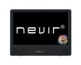 """Tv portatil nevir 10.1"""" led/ nvr-7302-tdt10p2/ tdt/ usb - Imagen 1"""