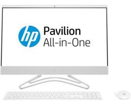 "HP 24 -f0010ns 60,5 cm (23.8"") 1920 x 1080 Pixeles 2,2 GHz 8ª generación de procesadores Intel® Core™ i3 i3-8130U Blanco PC todo"