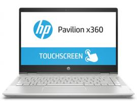 "HP Pavilion x360 14-cd0008ns Plata Híbrido (2-en-1) 35,6 cm (14"") 1920 x 1080 Pixeles Pantalla táctil 1,60 GHz 8ª generación de"