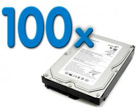- 3,5'' SATA 80 Gb. Pack 100Pack 100 Unidades: Disco Duro 3,5'' SATA 80 Gb. - Imagen 1
