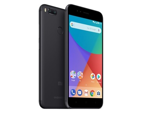 "Telefono movil smartphone xiaomi mi a1 black / 5.5"" / 64gb rom / 4gb ram / optical zoom dual camera / lector de huella / - Image"