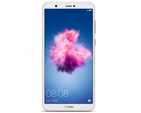 "Telefono movil smartphone huawei p smart gold/ 5.65""/ 32gb rom/ 3gb ram/ 13mpx - 8mpx/ octa core/ 4g/ lector de huella - Imagen"
