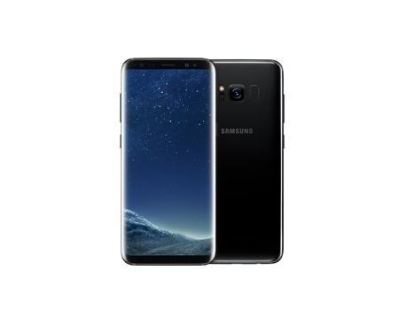 "Telefono movil smartphone samsung galaxy s8 plus black / 6.2"" / 64gb rom / 4gb ram / 13mpx -8mpx / octa core / 4g / lector de hu"