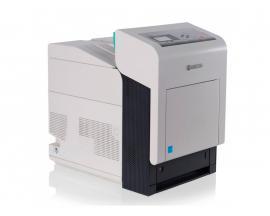 Kyocera FS-C5400DN Tamaño de papel A4 · Dúplex · Blanco y negro 35ppm · Color 35ppm · Resolución 600x600ppp · Memoria RAM 256Mb.
