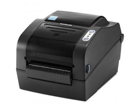 Impresora etiquetas trasnf. termica bixolon slp-tx420eg red serie usb negra - Imagen 1