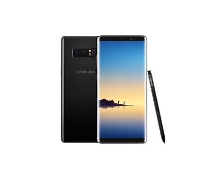 """Telefono movil smartphone samsung galaxy note 8 negro / 6.3"""" / 64gb rom / 6gb ram / 12+12 mpx - 8 mpx / octa core / dual sim -"""