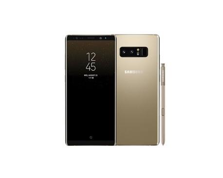 """Telefono movil smartphone samsung galaxy note 8 gold / 6.3"""" / 64gb rom / 6gb ram / 12+12 mpx - 8 mpx / octa core / dual sim - I"""