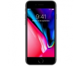 "Telefono movil smartphone apple iphone 8 256gb space grey / 4.7""/ lector de huella"