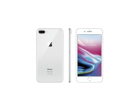 "Telefono movil smartphone apple iphone 8 plus 256gb silver / 5.5""/ lector de huella - Imagen 1"