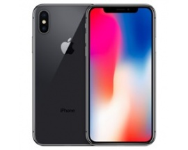 "Telefono movil smartphone apple iphone x 256gb space grey / 5.8""/ identificador facial"