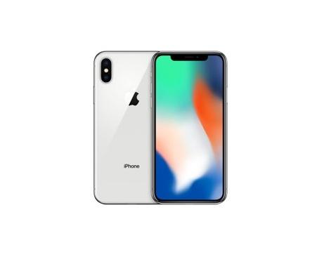 "Telefono movil smartphone apple iphone x 256gb silver / 5.8""/ identificador facial - Imagen 1"