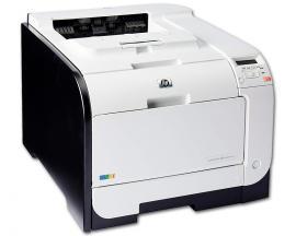 HP LaserJet Pro M451dnVelocidad: Hasta 20 ppm B/N y Color - Resolución: 600 x 600 dpi - Memoria: 128 Mb. RAM - Conectividad: