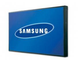 Samsung 400UX LCD 40 '' 16:9 · Resolución 1366x768 · Dot pitch 0.46125 mm · Respuesta 8 ms · Contraste 5000:1 · Brillo 700 cd/m