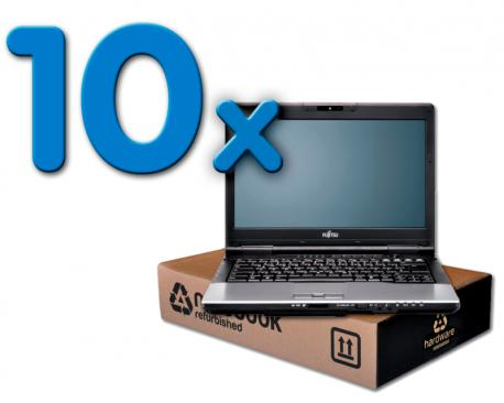 Fujitsu Lifebook S752 Pack 10Pack 10 Unidades: Intel Core i5 3340M 2.7 GHz. · 8 Gb. SO-DDR3 RAM · 500 Gb. SATA · DVD-RW · CO