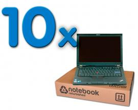 Lenovo ThinkPad T420 Pack 10Intel Core i5 M2520 2.5 GHz. · 4 Gb. DDR3 RAM · 320 Gb. SATA · COA Windows 7 Professional · Webc