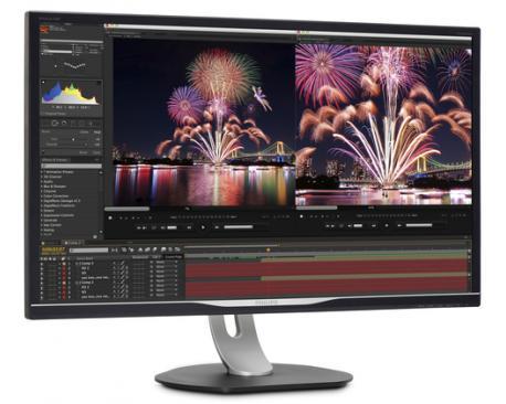 Philips Brilliance Monitor LCD con base USB-C 328P6VUBREB/00 - Imagen 1