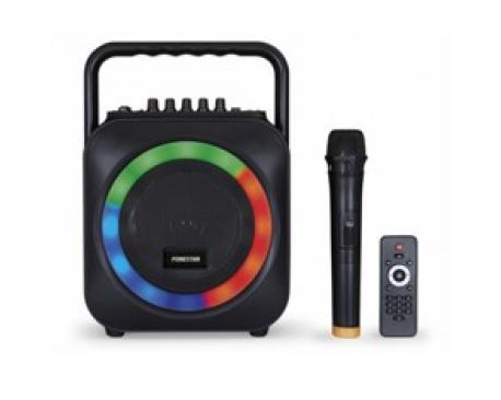 Altavoz portatil fonestar box-35led bluetooth/ karaoke/ usb/ sd/ microfono inalambrico - Imagen 1