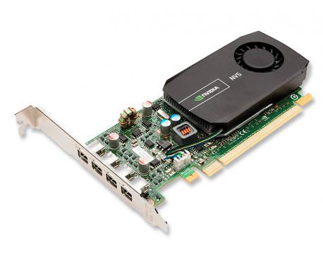 Nvidia Quadro NVS 510   3840 x 2160 dpi - 2 Gb. RAM DDR3 - 4 x Mini-DisplayPort - PCIe 2.0 X16 - Imagen 1