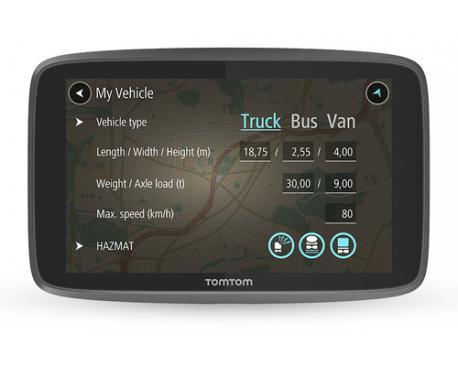 "Gps tomtom go professional 6250 6"" para camion autobus furgonetas... - Imagen 1"