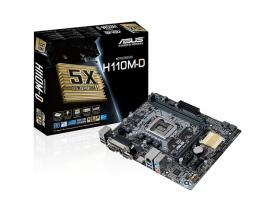 Placa base asus intel h110m-d socket 1151 ddr4 x 2 2133mhz max 32gb hdmi matx - Imagen 1