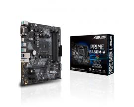 Placa base amd prime b450m-a socket am4 ddr4x4 3200mhz max 64gb dvi-d vga hdmi matx - Imagen 1