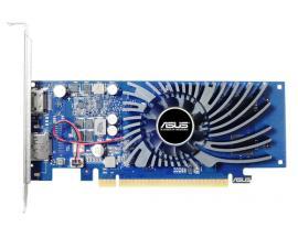 Vga asus  nvidia geforce gt1030 2g-brk 2gb gddr5 hdmi display port bajo perfil - Imagen 1