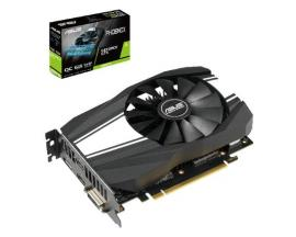 Vga asus nvidia ph-gtx1660ti-o6g 6gb gddr6 dvi-d hdmi display port - Imagen 1