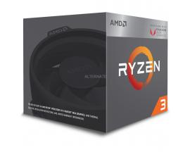 Micro. procesador amd ryzen 3 2200g 4 core 3.7ghz 6mb am4 radeon vega 8 - Imagen 1