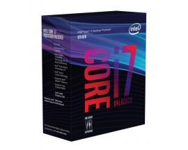Micro. intel i7 8700k lga 1151 8ª generacion 6 nucleos/ 3.7ghz/ 12mb/ in box - Imagen 1