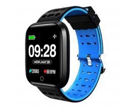 "Reloj innjoo sport watch azul cuadrado/ 1.33""/ 512kb rom/ 64kb ram/ bluetooth 4.0 - Imagen 1"