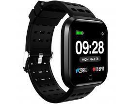 "Reloj innjoo sport watch negro cuadrado/ 1.33""/ 512kb rom/ 64kb ram/ bluetooth 4.0 - Imagen 1"