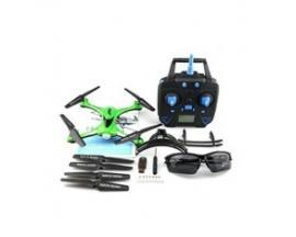 Drone jjrc h31 verde resistente al agua y los golpes boton de retorno 4 canales - Imagen 1