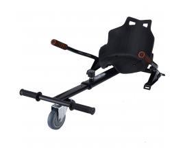 Asiento kart para hoverboard skateflash hoverkart negro compatible con k6/ k10/ k11 - Imagen 1