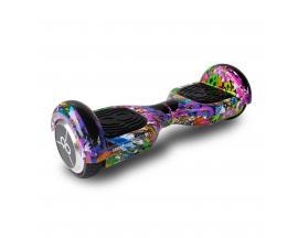 "Hoverboard skateflash k6+b colorfull rueda 6.5"" bateria 4000mah motor 250wx2 / bolsa de transporte - Imagen 1"