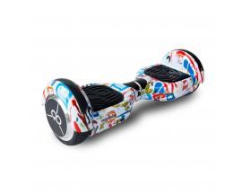 "Hoverboard skateflash k6+b street dance rueda 6.5"" bateria 4000mah motor 250wx2 / bolsa de transporte"
