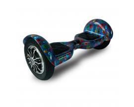 """Hoverboard skateflash k10+b skull rueda 10"""" bateria 4000 mah motor 350wx2 / bolsa de transporte"""